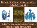 Remove agony from Gmail Customer Care Service- 1-888-514-9993