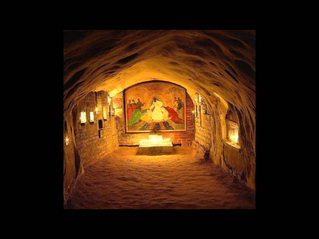 Тропарь Пасхи по-грузински - ქრისტე აღსდგა (სვანური)