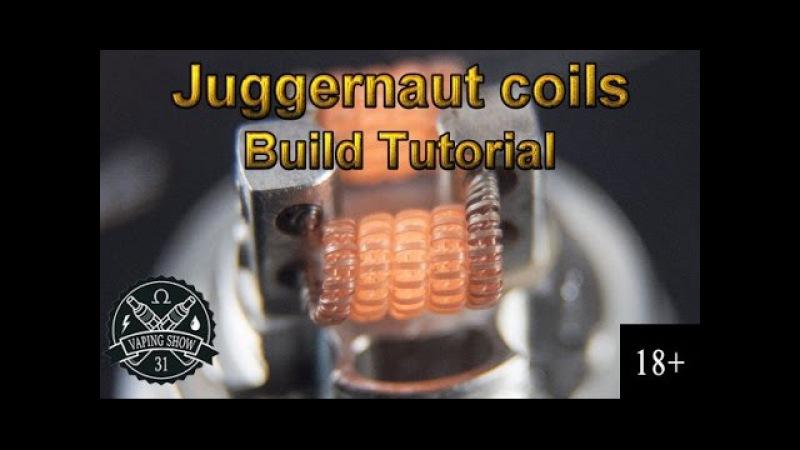 Плетем хорошую, вкусную и красивую намотку Juggernaut Coil и устанавливаем ее в диабло