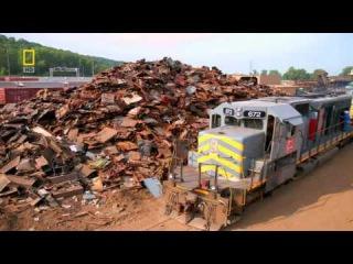 Убийца Поездов!Каждый Поезд Боится Встречи С Ним!Мега слом National Geographic