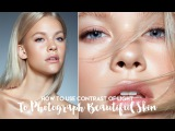 How To Use Contrast of Light To Photograph Beautiful Skin in Studio Beauty [HD]
