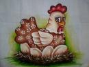 Como pintar galinha com tons de Marrom