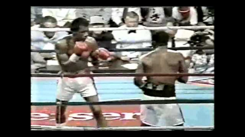 Aaron Pryor vs Bobby Joe Young Pryor's only loss