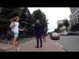 Знакомство с девушкой на улице. Пикап