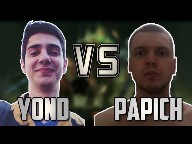 Y0ND vs. EvilArthas (Hailrake, Папич)