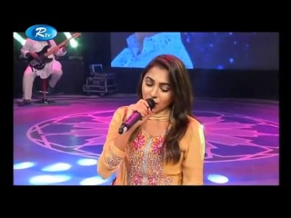 Amar Bhanga Ghore Covered by Liza | Humayun Ahmed Special Musical Program | Rtv