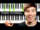How to play COMPTINE D'UN AUTRE ÉTÉ - on Piano Tutorial (Amélie Soundtrack)