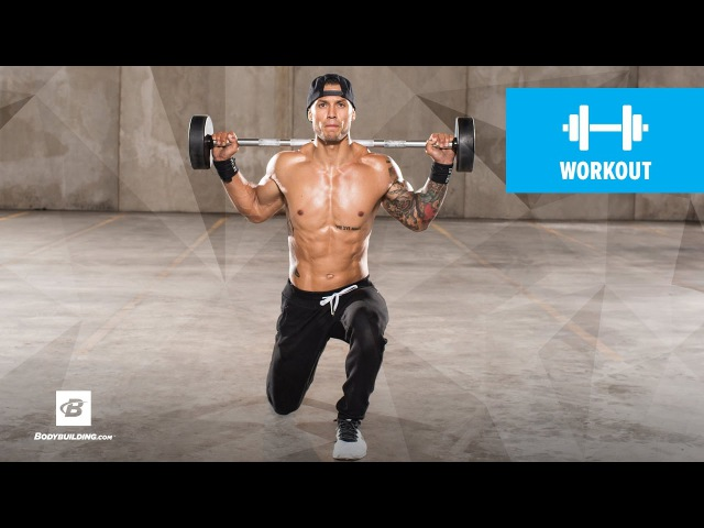 Advanced High-Rep Leg Workout | Ripped Remix | Day 2 » Freewka.com - Смотреть онлайн в хорощем качестве