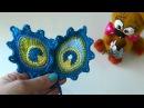 Как связать перо павлина крючком/мк toy-fabric