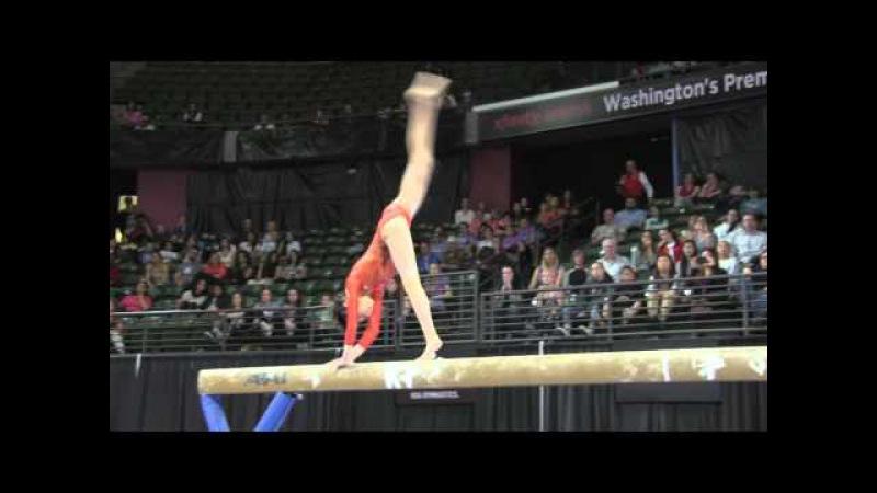 Nagi Kajita (JPN) - Balance Beam Final - 2016 Pacific Rim Championships