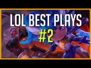 LOL Best Plays 2 - Insane Combo Riven Pentakill - League of Legends [LOLPlayVN]