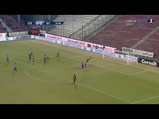 CFR Cluj - Viitorul Constanta 1-0 Gol superb Ciprian Deac