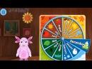 Лунтик Учим Английский язык - Месяца года Развивающий Мультик Игра для детей Like BebyTV