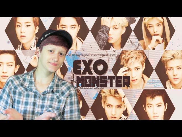 Реакция EXO - Monster | Reaction MV