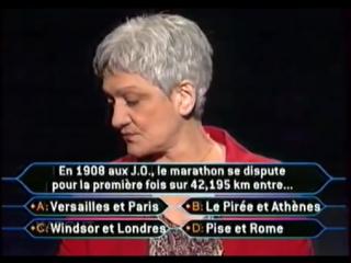 Qui veut gagner des Millions (27.08.2004) 1 Million Euro Question