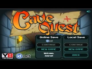 Cave Quest - забавный рогалик