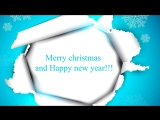 Merry christmas and Happy new year 2014! Best wishes!