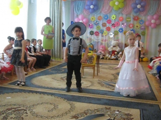 Выпускной в детском садике