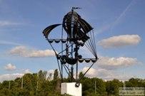 26 июля 2015 - Скульптуры из серии История транспорта в Тольятти