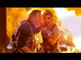 Metallica & Lady Gaga - Moth Into Flame (Grammys 2017) у Хетфилда работает микрофон