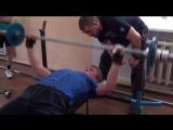 Денис Захаров (37,5 кг. на 47 повторов) 04.11.2016