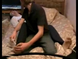 Feet tickle torture