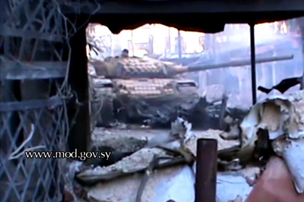 Российские Т-72 стали главным оружием армии Асада при освобождении Дамаска