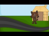 The Three Little Pigs and the Big Bad Wolf - Fairy Tale for Children