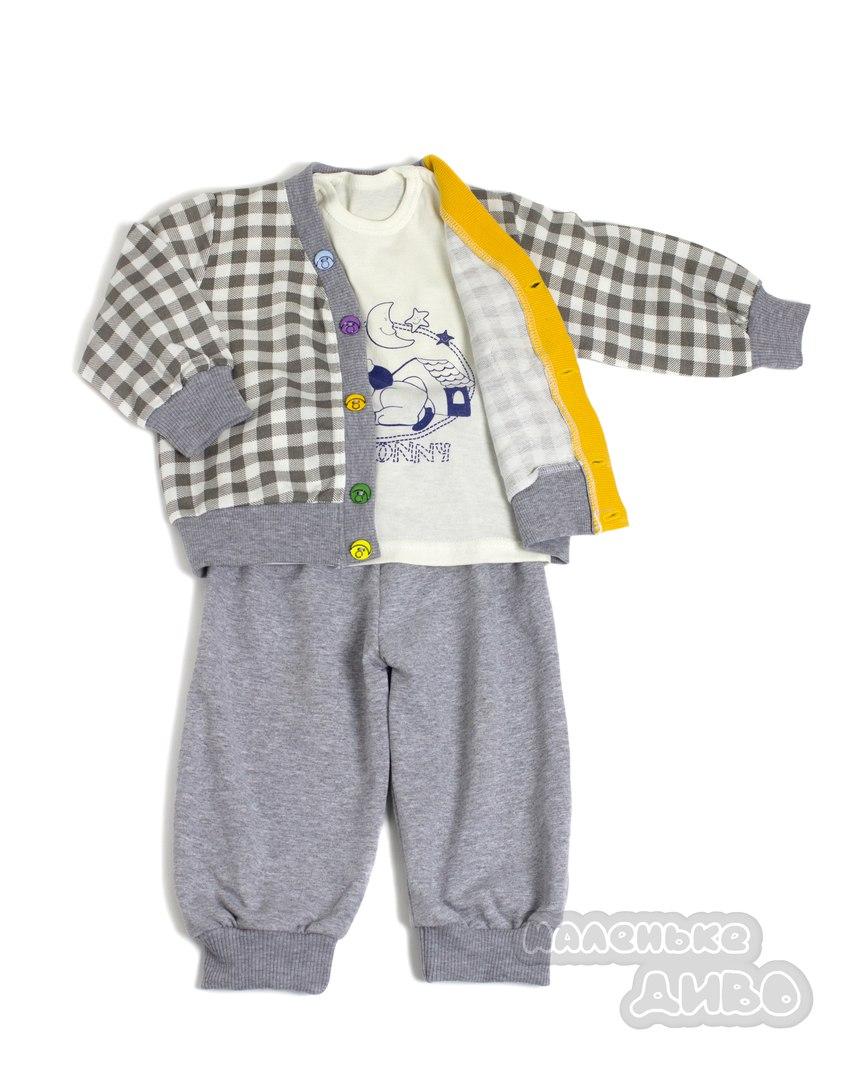 Костюм для хлопчика: жакет, штани, футболка
