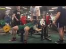 Коба,Жим лежа - 185 кг
