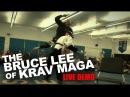The Bruce Lee of Krav Maga Roy Elghanayans LIVE DEMO!