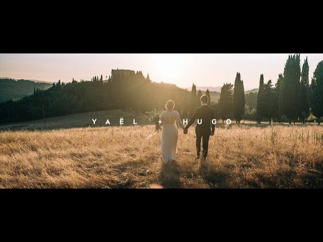 Yaël Hugo Wedding clip, Tuscany Italy