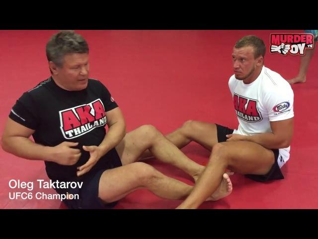 Oleg Taktarov: MMA tech 7 боляк Дракулы