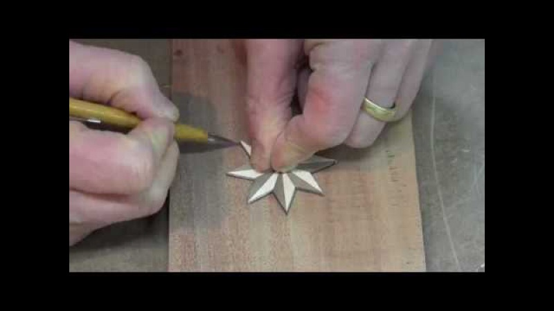 Router Inlay Practice - The Compass Rose
