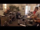 Gergo Borlai warm up exercises - Big Drum Bonanza  2014