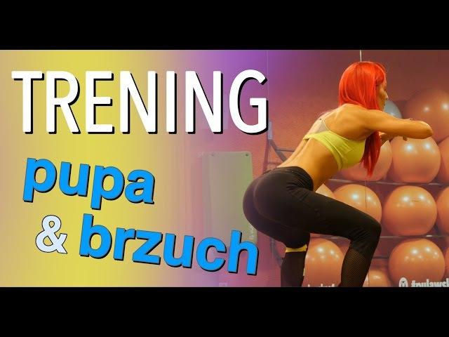 Sexi pośladki płaski brzuch 15 minutowy trening domowy