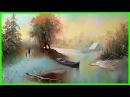 Зимний пейзаж маслом. Урок рисования для взрослых с нуля 79857776200