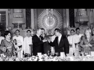 Король Таиланда Пхумипон Адульядет в последний путь