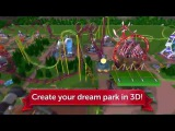 RollerCoaster Tycoon Touch - Геймплей  Трейлер