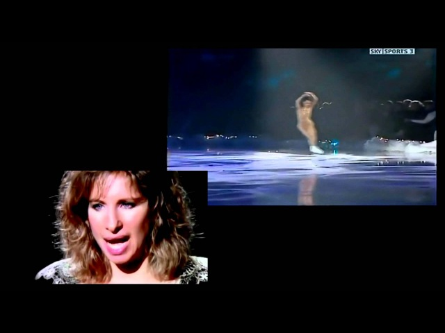 Jackie Evancho Barbra Streisand Sasha Cohen - SOMEWHERE HD