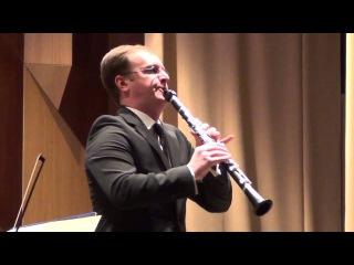 К.М.Вебер - Концертино для кларнета с оркестром, op.26