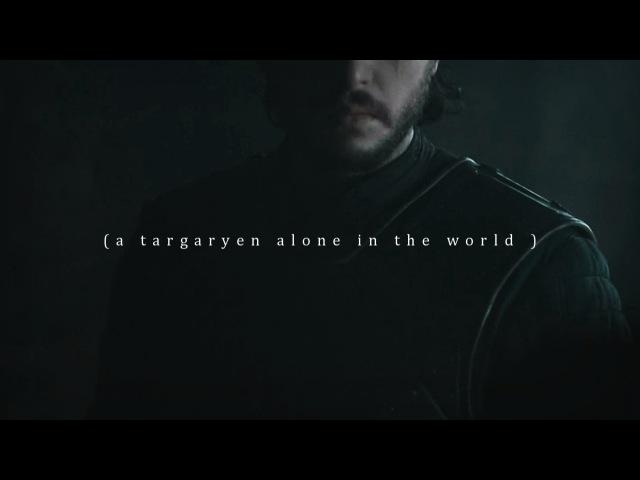 A targaryen alone in the world.