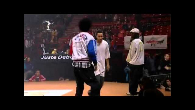 Les Twins vs Physs Paul Ereck Winners Juste Debout 2009 hip hop