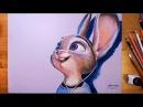 Zootopia Judy Hopps Speed drawing drawholic