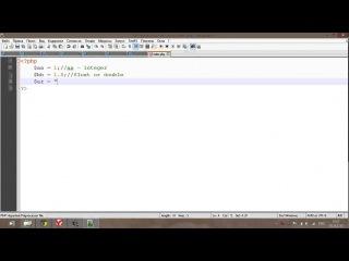 Первый урок по PHP | Знакомство и переменные