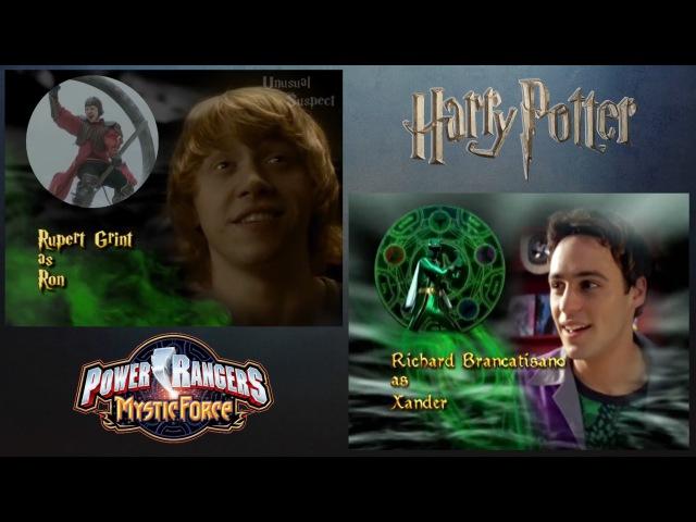 Harry Potter (Power Rangers: Mystic Force Style!) [Comparison Video]