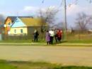 Пьяная быдло драка на родительский день в селе Балки, Запорожская обл.