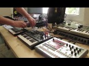 Live Jam 51 - Electro / Post Rock / Philip Glass - Microbrute, Microkorg, Volca Sample, eurorack
