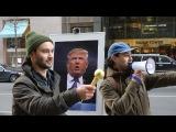 New Yorkers Trash Trump