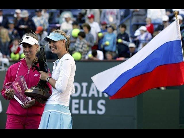 Sharapova vs Dementieva | 2006 Indian Wells Highlights